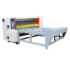 Chine-feeding style rotary die cutting machine