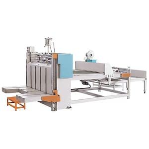 Semi-automatic carton gluer Machine