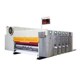 High speed automatic rotary die cutting machine