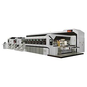 Automatic computerized flexo printer slotter die cutter