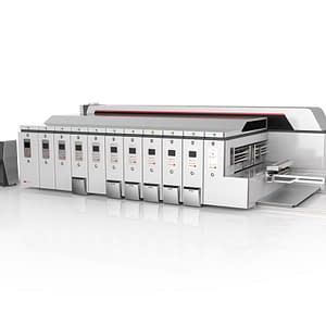High-speed vacuum transfer printing slotting die-cutting machine