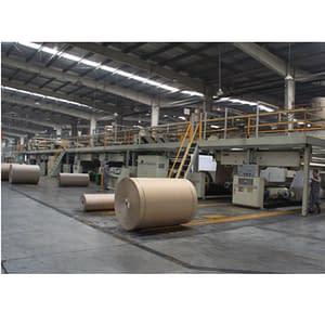 corrugated cardboard making machine