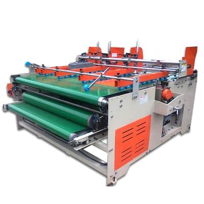 Semi-automatic press fit type folder gluer